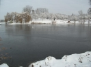 Seepark im Winter